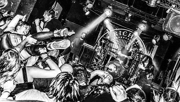 Richie Ramone and band rock Club Amparo, - Carlos Casares, Argentina, 2018 - PHOTO BY IVAN WEINGART