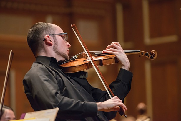 Robert Anemone, the 2015 Hudson Valley String Competition first-place winner.