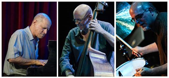 The David Lopato Trio, left to right: David Lopato, Jay Anderson, Harvey Sorgen