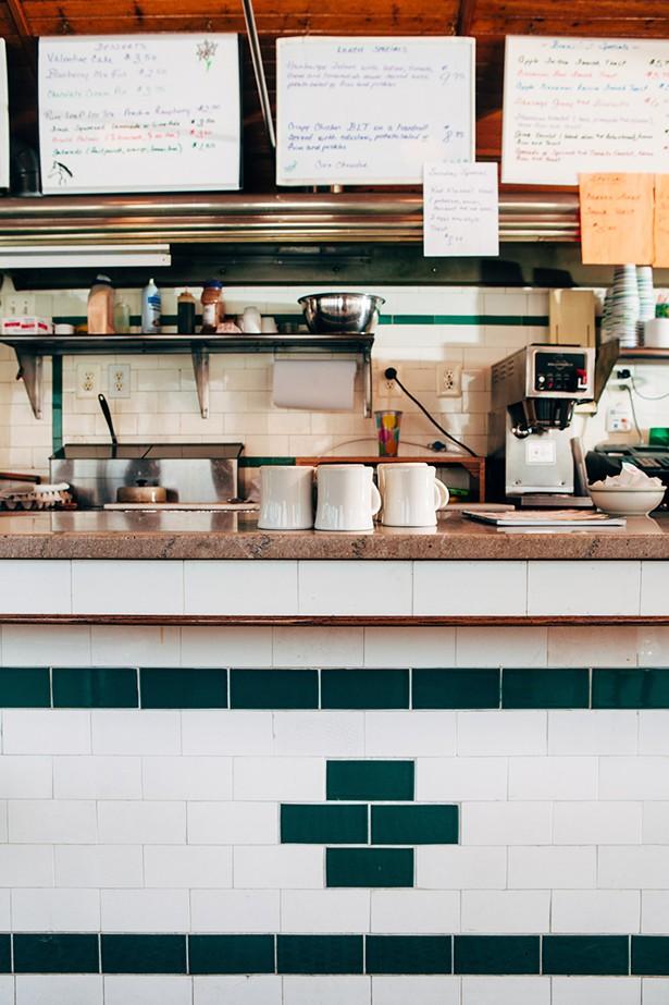 Dan's Diner in Chatham - PHOTO: TOM EBERHARDT-SMITH