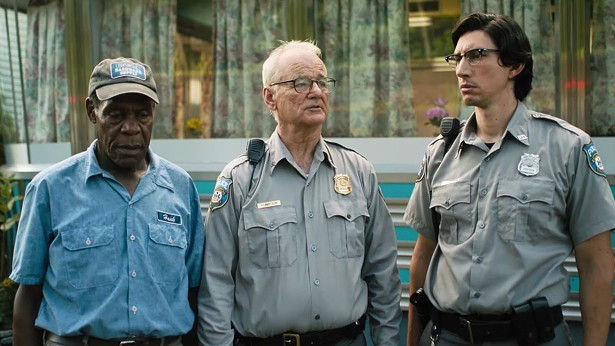DANNY GLOVER, BILL MURRAY, AND ADAM DRIVER IN THE DEAD DON'T DIE © 2019