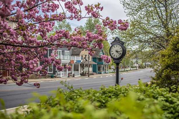 The Sloatsburg clock in the village center along Route 17. - PHOTO BY SUSAN MAGNANO