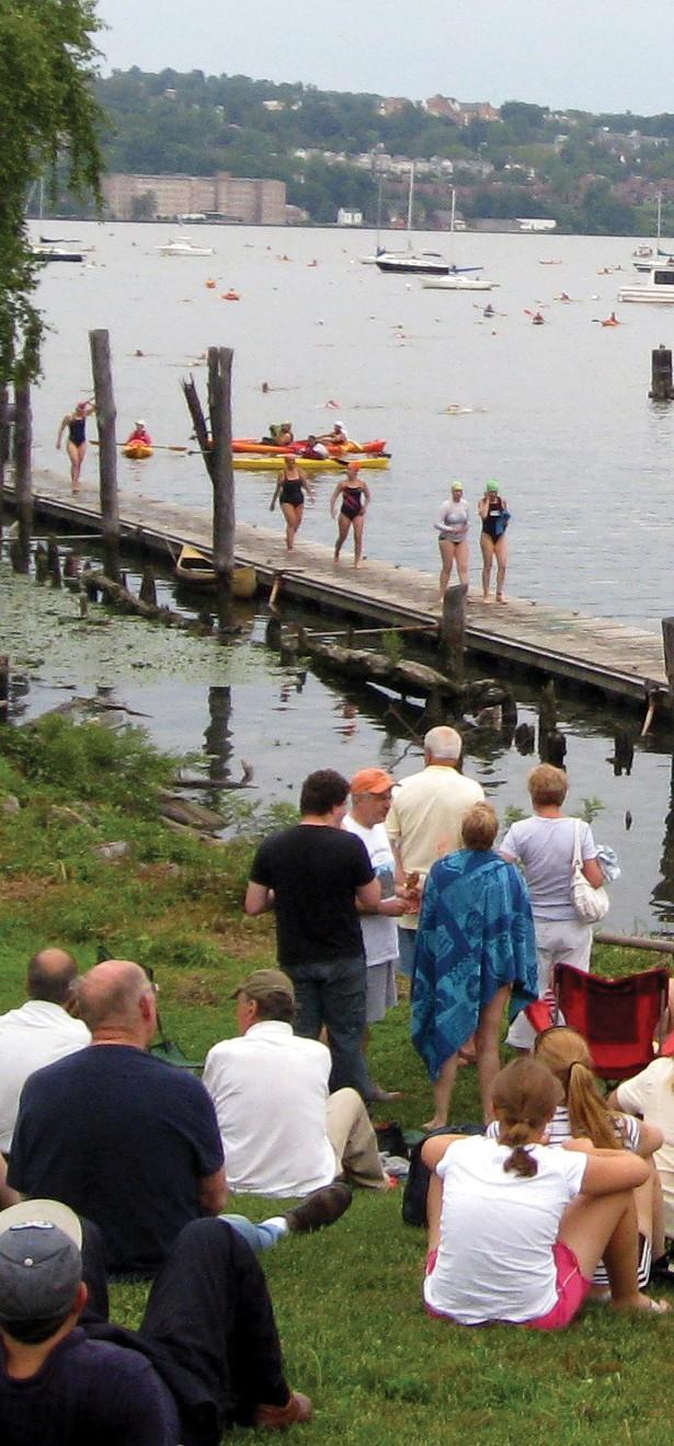 The Great Newburgh to Beacon Hudson River Swim.