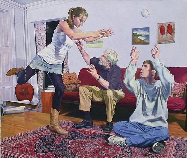 Gerard Wickham, Aloft, oil on canvas, 2006.