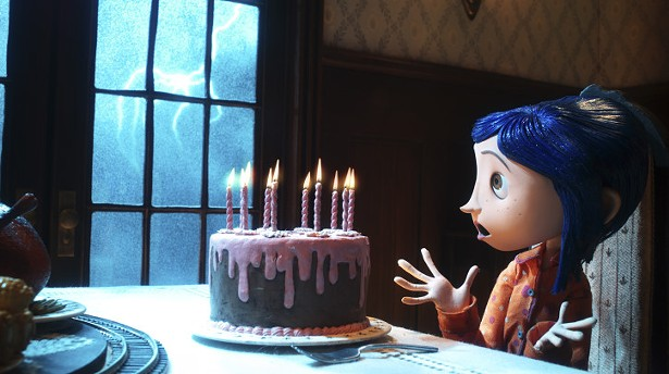 Dakota Fanning in Coraline (2009)