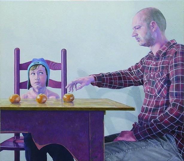 Gerard Wickham, Three Tangerines, 2010.