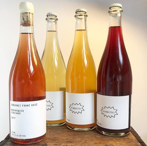 Biodynamic natural wines from Wild Arc Farm in Pine Bush, NY