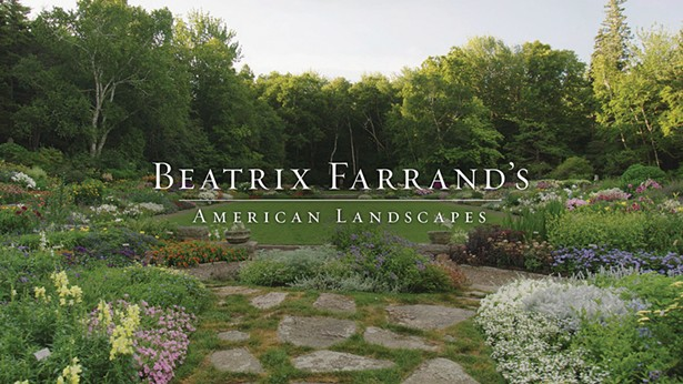 A still from the eponymous documentary produced by the Beatrix Farrand Garden - Association about the pioneering horticulturist.