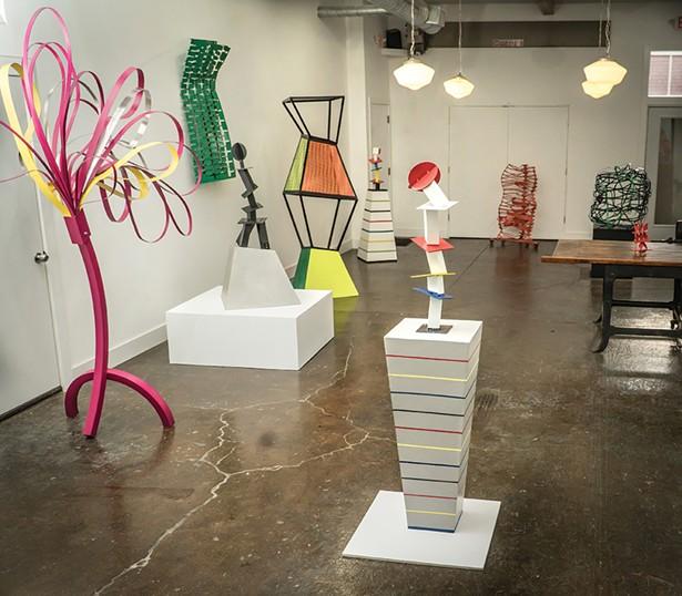 "The ""Vivien Collens: New Sculpture"" exhibition at Holland Tunnel Gallery. - PHOTO: DANIELLE VAN HOUTEN"