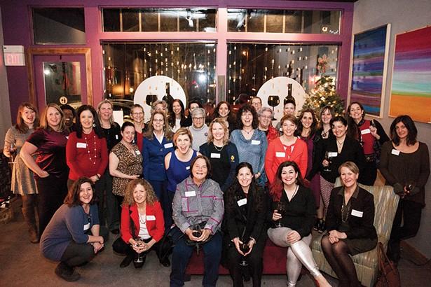 Hudson Valley Women in Business celebrating at Oak Vino Wine Bar in Beacon. - PHOTO: JACPFEF PHOTOGRAPHY