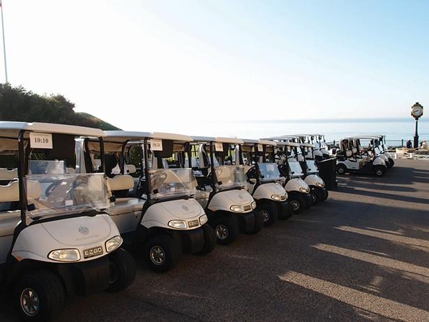Trump National Golf Club in Los Angeles, in 2011 - PHOTO: YUKI SHIMAZU