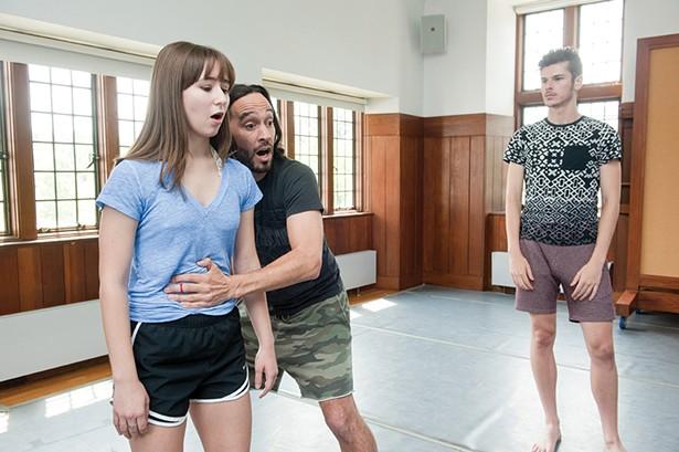 Rachel Altemose apprentices in the Powerhouse Theater Training Program in 2017. - PHOTO: KARL RABE