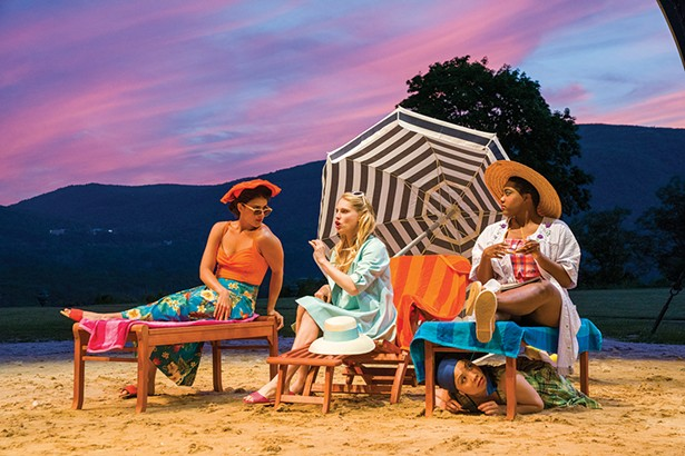 """Hudson Valley Shakespeare Festival will perform an adaptation of """"Much Ado About Nothing"""" set in 1950s America at Boscobel through September 8."""