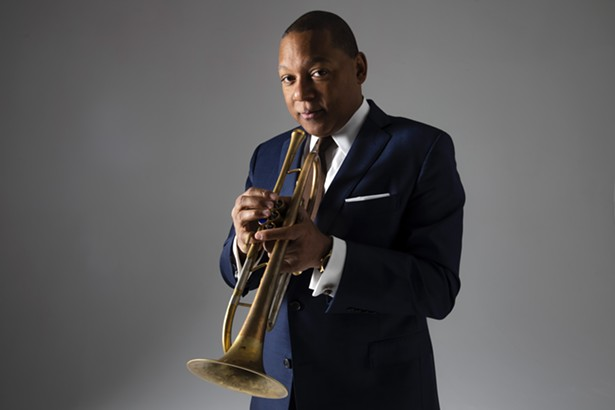 Music Director, Grammy Award-® and Pulitzer Prize-winner Wynton Marsalis, of the Jazz at Lincoln Center Orchestra. - PHOTO BY PIPER FERGUSON