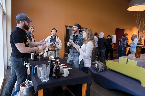This year, Brew U will include educational seminars on brewing, sake, and fermented foods. - PHOTO: PHIL MANSFIELD, THE CULINARY INSTITUTE OF AMERICA
