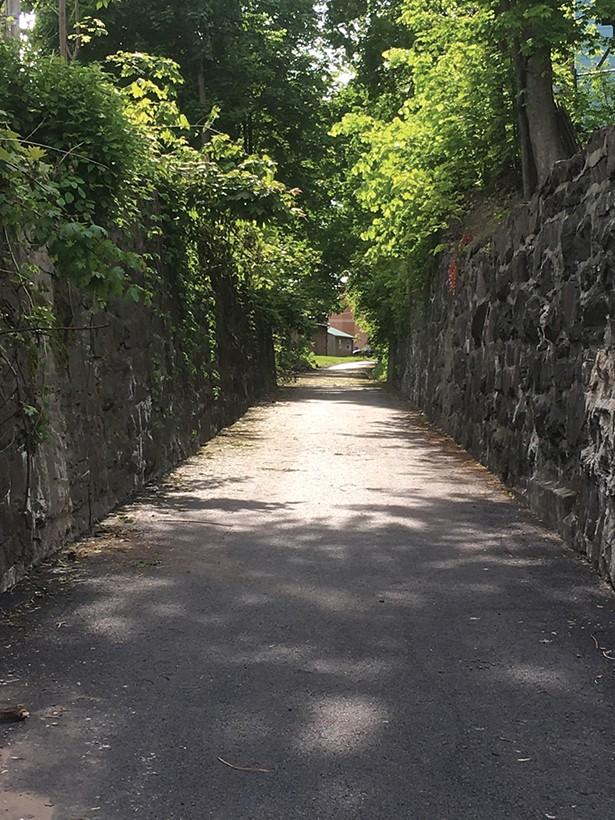 Kingston Point Rail Trail.