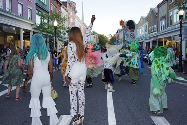 Opening parade, 2018 O+ Festival - PHOTOS COURTESY OF O+ FESTIVAL
