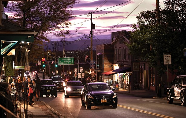 Main Street at dusk. - PHOTO: ROY GUMPEL
