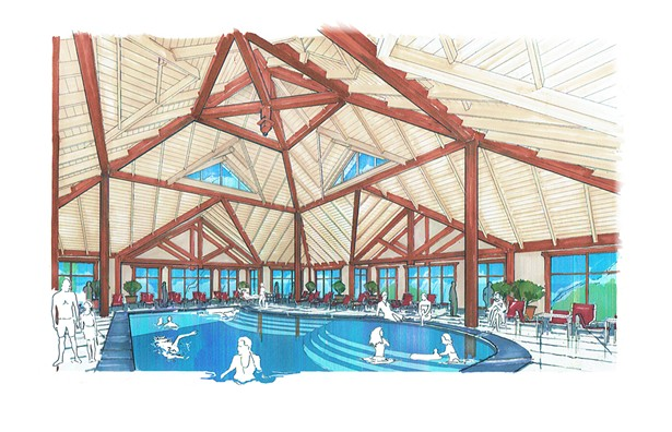 Adirondack Resort, concept design by AJA Architecture and Planning - AJA ARCHITECTURE AND PLANNING