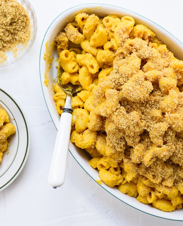 Vegan stovetop mac 'n' cheese - ALEXANDRA SHYTSMAN, COURTESY OF CATSKILL ANIMAL SANCTUARY