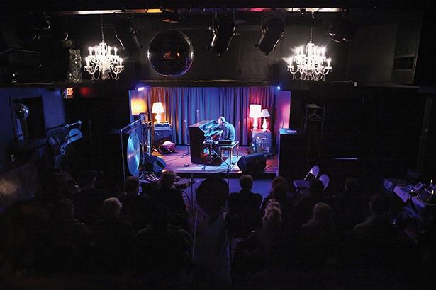 Marck Trecka performs at the Avalon Lounge on - November 14, opening for avant-garde sound artist and percussionist Tatsuya Nakatani. - PHOTO: NIVA DORELL