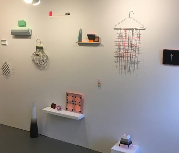 Joan Grubin installation in HILLSDALE at LABspace