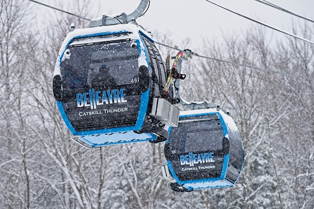 The Catskill Thunder gondola at Bellearye Mountain. - PHOTO: DARREN MCGEE