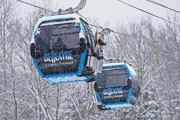 The Catskill Thunder gondola at Bellearye Mountain. - PHOTO: DARREN MCGEE