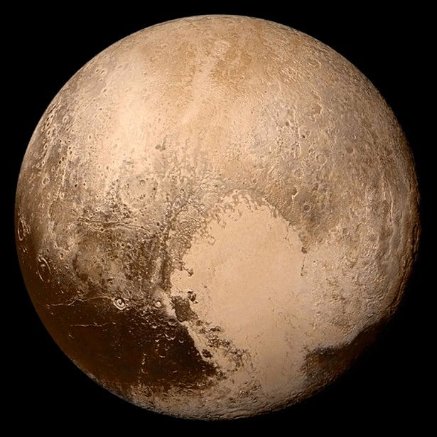 Pluto - NASA / JOHNS HOPKINS UNIVERSITY APPLIED PHYSICS LABORATORY / SOUTHWEST RESEARCH INSTITUTE