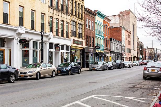 Main Street, Poughkeepsie. - PHOTO: ANNA SIROTA