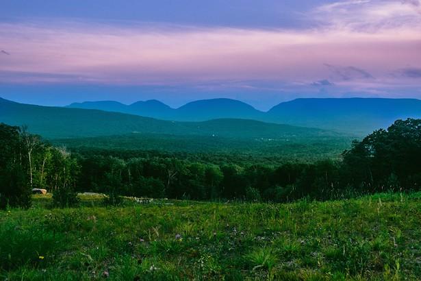 View From Deer Mountain Inn.