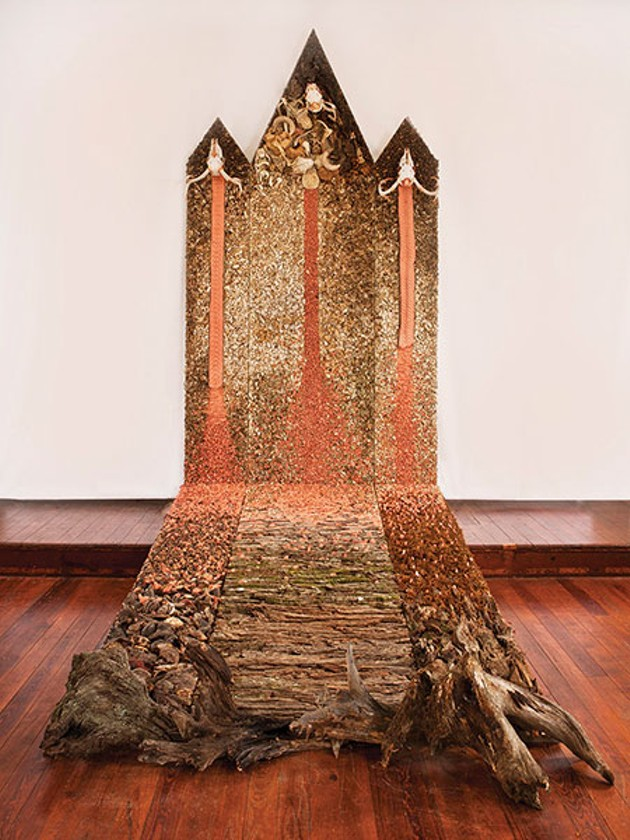 Parting Shot: Linda Weintraub at CHRCH Project Space