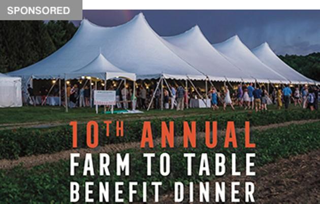 The Sylvia Center's 10th Annual Farm to Table Dinner