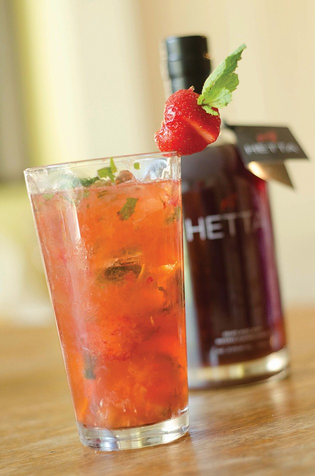 The Drink: Summer Fruit Cup from Kingston's Hetta Glogg