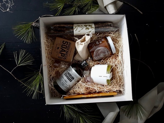 Gifts From Hinterland: New York-Made Gift Baskets from Women Artisans in the Hudson Valley