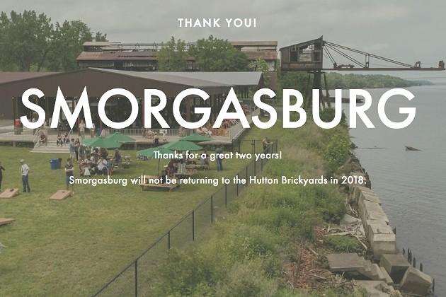 Breaking News: Smorgasburg Won't Return to Hutton Brickyards in 2018