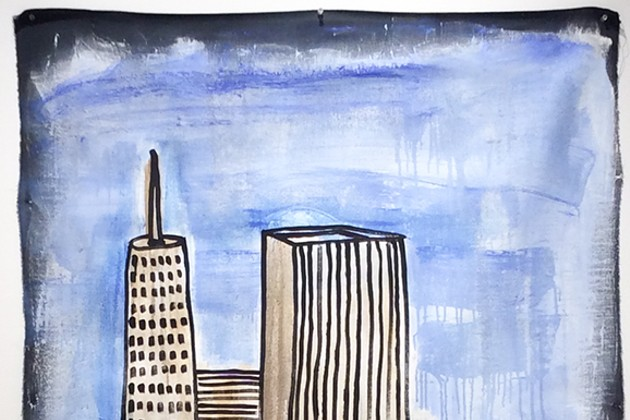 """""""Painted Cities"""" at the Carrie Haddad Gallery through Feb. 18"""