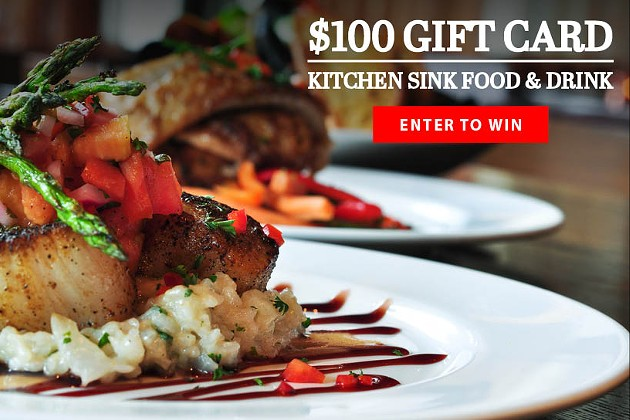Win a $100 gift card to Kitchen Sink Food & Drink in Beacon NY