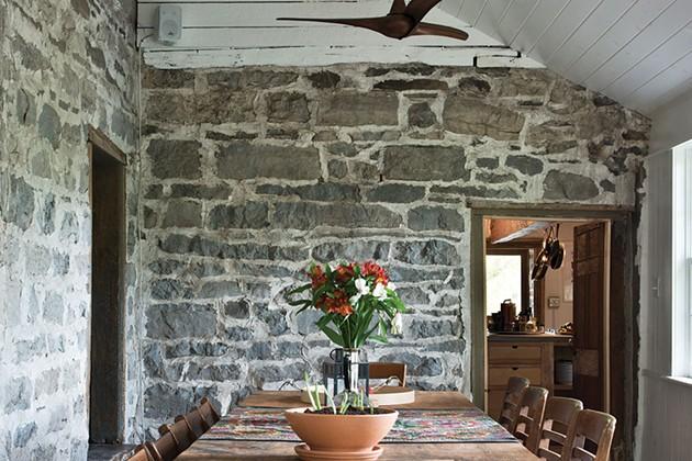Konstanze Zeller's Colonial Stone House in Marbletown