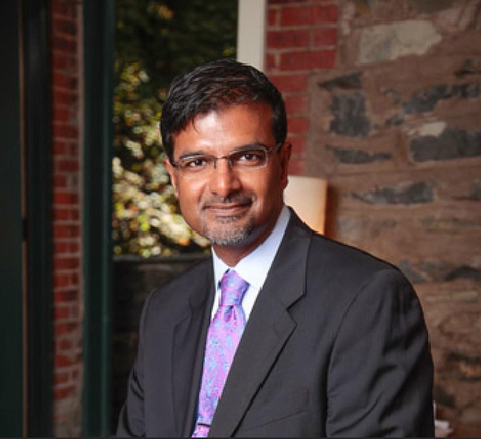 Dr. Manoj Abraham, Pres., Dutchess County Medical Society and Event Moderator