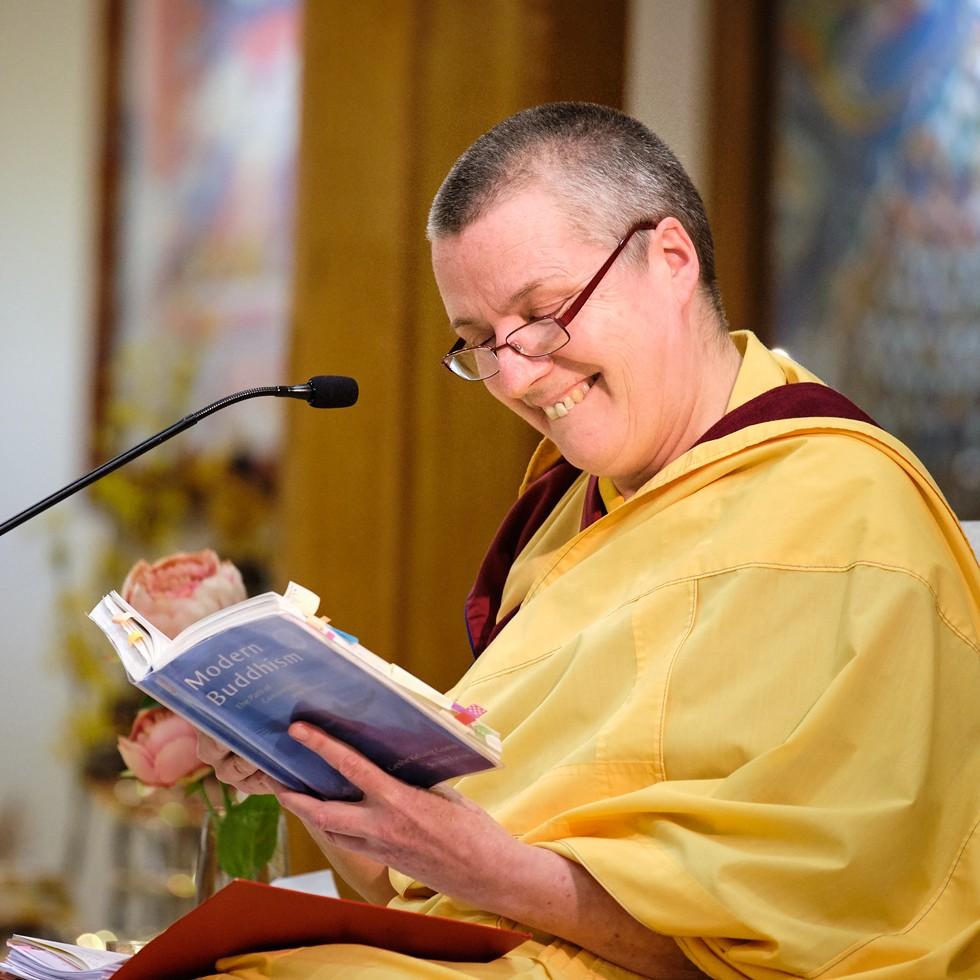 Buddhist Nun GEN-LA KELSANG DEKYONG