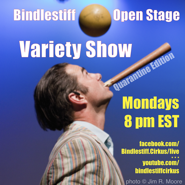 Bindlestif Open Stage Variety Show - Quarantine Edition