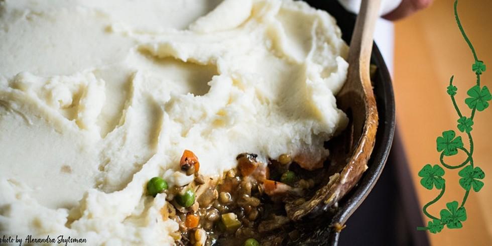 Vegan Skillet Shepherd's Pie
