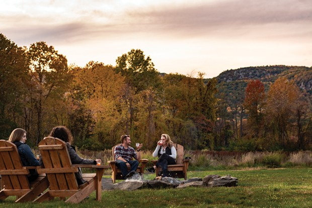 Coppersea Distilling's wide-open outdoor farm space in New Paltz is a pandemic-perfect craft beverage hangout.