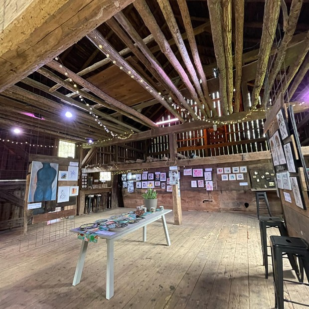 BARNWOOD takes place in a rustic barn built in 1850 in Ulster Park, NY.