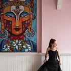 Artist Kelli Bickman's Vibrant Live/Work/Gallery Space in Saugerties