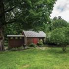 Farmhouse In Shades of Blue