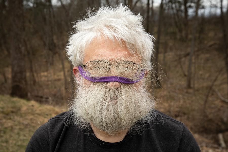 DIY mask - PETE MAUNEY