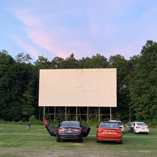 Hyde Park Drive-In reopens May 22.