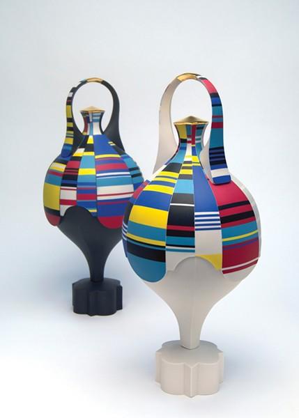 Scratch Spin Amphora, Peter Pincus